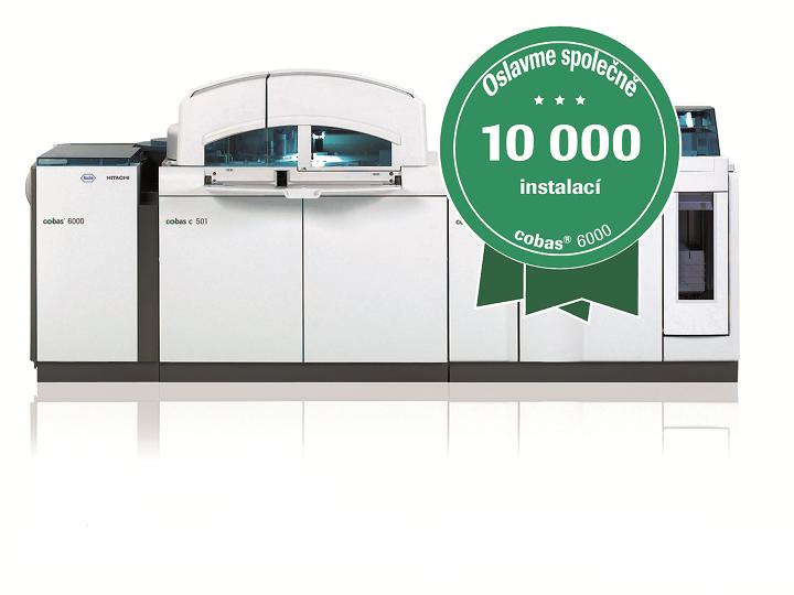 10 000 instalací analytického systému cobas® 6000
