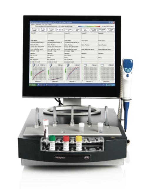 Multiplate® – POC analyzátor krevních destiček
