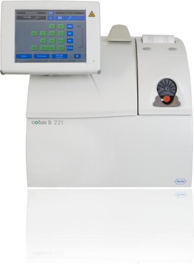 cobas b 221 – POC analyzátor krevních plynů
