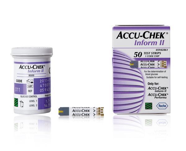 Accu-Chek® Inform II testovací proužky