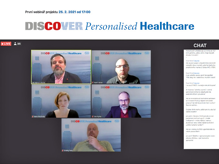 Projekt Discover Personalized Healthcare
