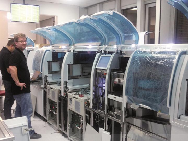 Preanalytický systém cobas® 8100 Roche na OKB FN Brno
