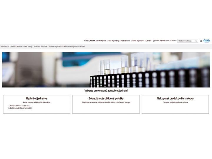 Nový objednávkový systém produktů Roche Diagnostics